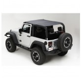 Island Topper Black Diamond 07-09 Jeep JK Wrangler