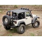 Pocket Island Topper Black Diamond 10-12 Jeep 2-Door Wrangler