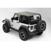 Pocket Island Topper Khaki Diamond 10-12 Jeep 2-Door Wrangler