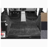 Deluxe Carpet Kit Black 76-95 Jeep CJ/Wrangler