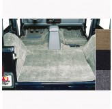 Deluxe Carpet Kit, Gray; 76-95 Jeep CJ/Wrangler YJ