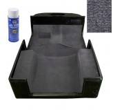 Deluxe Carpet Kit With Adhesive Gray 97-06 Jeep TJ Wrangler