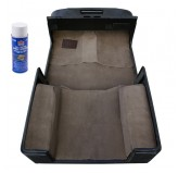 Deluxe Carpet Kit with Adhesive, Honey; 97-06 Jeep Wrangler TJ