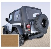 Soft Top Door Skins Spice Clear Windows 97-02 Jeep TJ Wrangler