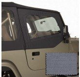 Door Skins, Gray; 88-95 Jeep Wrangler YJ