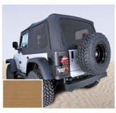 XHD Soft Top, Spice, Tinted Windows; 97-06 Jeep Wrangler TJ