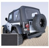 XHD Soft Top, Black, Tinted Windows; 97-06 Jeep Wrangler TJ