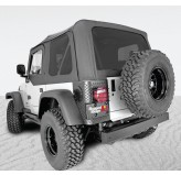 Xhd Sailcoth Soft Top Black Tinted Windows 97-06 Jeep TJ Wrangler