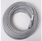 Steel Winch Cable, 23/64 Inch x 94 feet