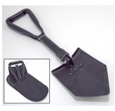 Heavy Duty Tri-Fold Recovery Shovel, Multi-use for Offroad