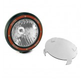 7 Inch Round HID Off Road Light, Black Composite Housing