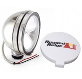 6 Inch Halogen Fog Light Kit, Stainless Steel Housing