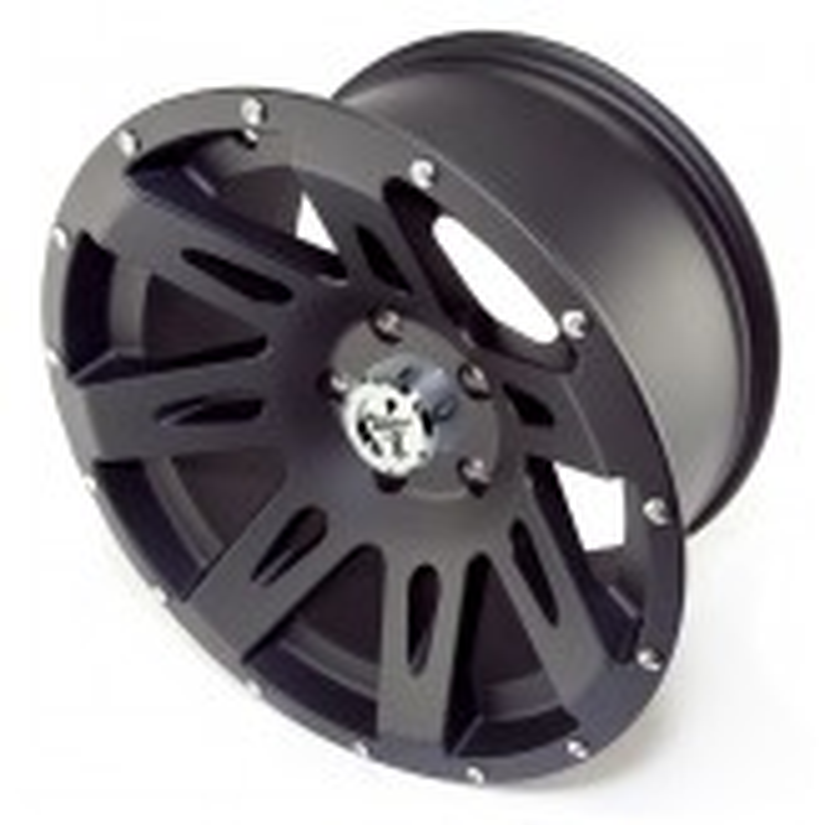 XHD Wheel, 17x9, Black Satin; 07-17 Jeep Wrangler JK