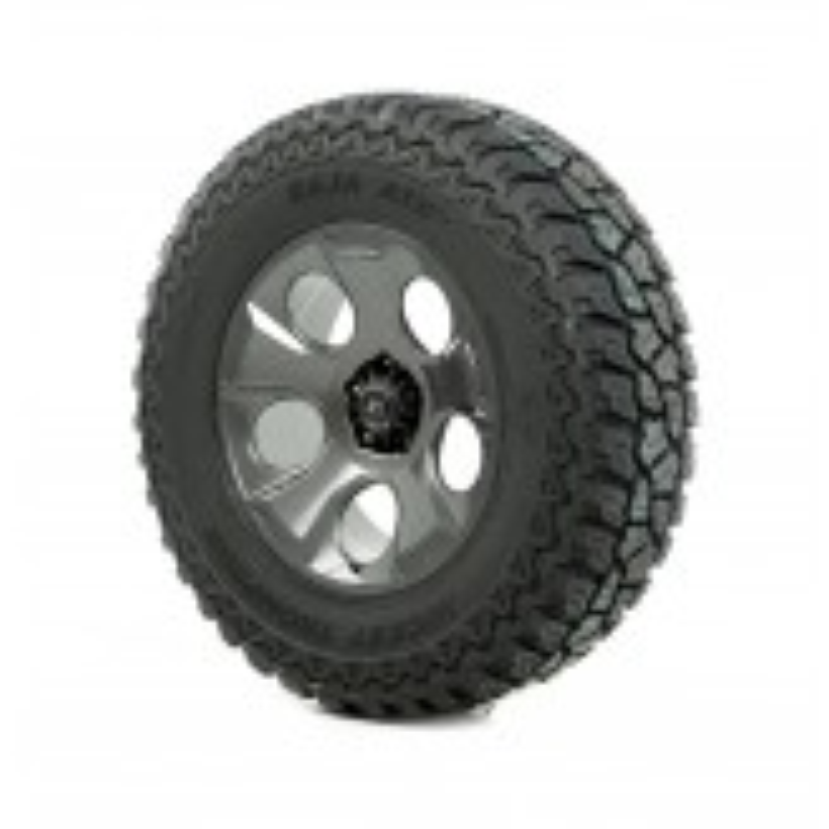 Wheel/Tire Pkg, Drakon, Gun Metal, 37x12.50x20