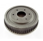 Brake Drum, Unfinned; 74-78 Jeep SJ Models