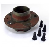 Front Axle Hub, RH Threaded Studs; 41-68 Ford/Willys Models