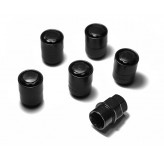 Five Piece Wheel Lock Set 1/2 -20 Thread, Black