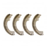 Brake Shoes; 53-71 Jeep CJ Models