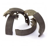 Brake Shoes, Rear ; 82-84 Willys DJ Models