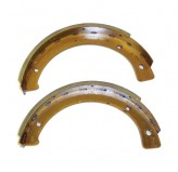 Parking Brake Shoes; 41-71 Willys/Ford GPW/CJ