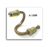 Wheel Cyl Brake Line; 41-71 Willys/CJ Models