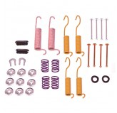 Brake Shoe Hold Down Kit; 90-98 Jeep Models