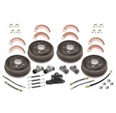 Drum Brake Overhaul Kit; 48-63 Willys/Jeep Models