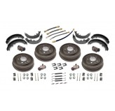 Drum Brake Overhaul Kit; 53-64 Willys/Jeep Models