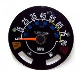 Speedometer Gauge, 5-85 MPH; 80-86 Jeep CJ5/CJ7/CJ8