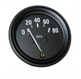 Oil Gauge; 48-67 Willys CJ2A/CJ3A/Jeep CJ3B