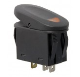 2-Position Rocker Switch Amber