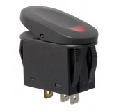 2-Position Rocker Switch Red