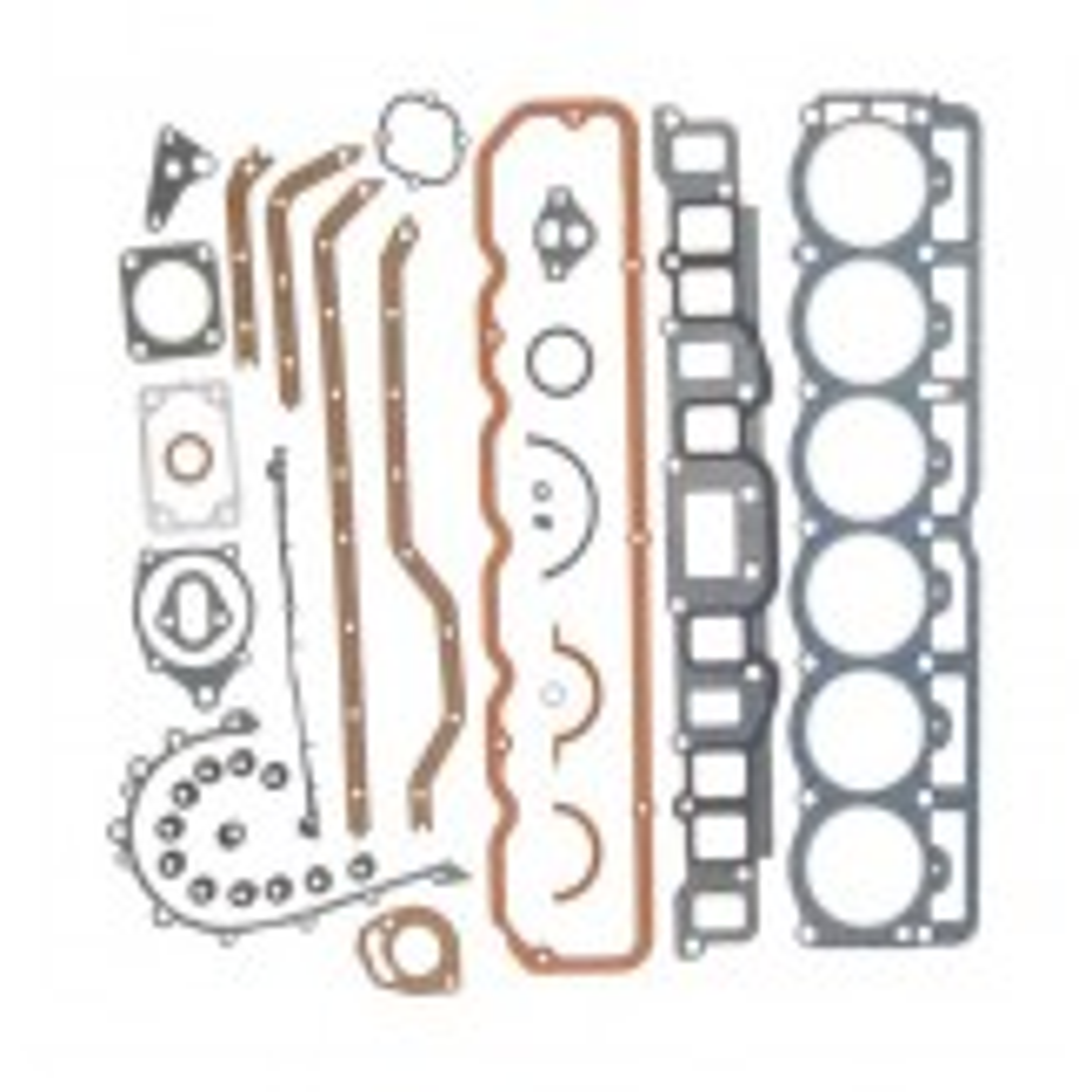 Engine Gasket Set, 4.2L; 81-90 Jeep CJ/Wrangler