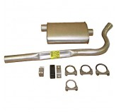 Muffler Tailpipe Kit 82-86 Jeep CJ7