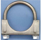 Exhaust Clamp, 2.5 Inch Hd