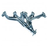 Header, Polished Stainless Steel, 4.0L; 91-98 Jeep Models XJ/ZJ/YJ/TJ