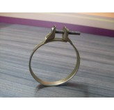 Air Horn-Carb Hose Clamp, L-Head; 41-53 Willys Models