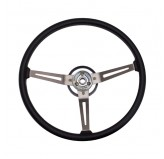 Steering Wheel, Vinyl; 76-95 Jeep CJ/Wrangler