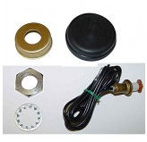 Horn Button Kit; 60-75 Jeep CJ5 and CJ6