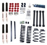 2 Inch Lift Kit with Shocks; 97-02 Jeep Wrangler TJ