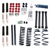 2 Inch Lift Kit with Shocks; 04-06 Jeep Wrangler Unlimited LJ