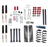 4 Inch Lift Kit with Shocks; 04-06 Jeep Wrangler Unlimited LJ