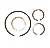 T90 Input Shaft Snap Ring Set; 46-71 Willys/Jeep Models
