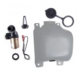 OEM Washer Bottle Kit with Pump and Filter; 72-86 Jeep CJ Models