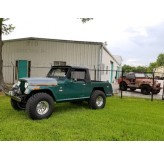 """1970 Hot Rod 4WD Jeepster Commando """"The Beast"""" & Holiday Priced"""