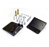 Door Latch Mounting Bracket; 81-95 Jeep CJ/YJ