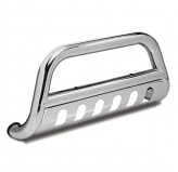 3-Inch Stainless Steel Bull Bar 07-09 Chevy GMC Silverado Sierra Hd