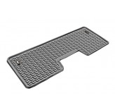 Floor Liners, Rear, Gray; 09-14 Ford F-150 SuperCrew