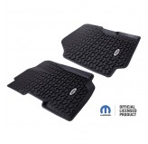 All Terrain Front Floor Liners With Jeep Logo 76-95 Jeep