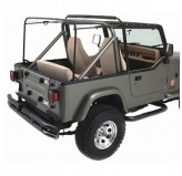 Factory Replacement Soft Top Hardware; 87-95 Jeep Wrangler YJ
